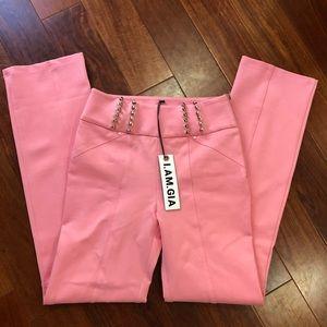 I. AM. GIA     Carolina Pant size medium pink
